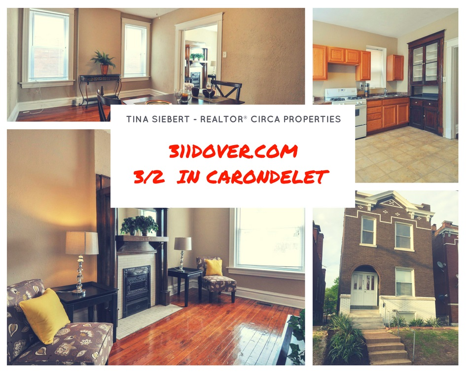 311 Dover Street St Louis MO 63111 – Big house in Carondelet!